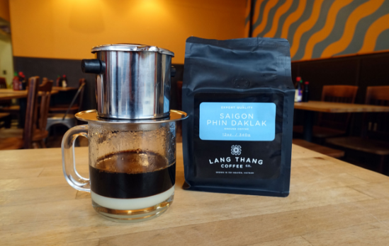 Lang Thang Coffee on Vietnamese coffee phin