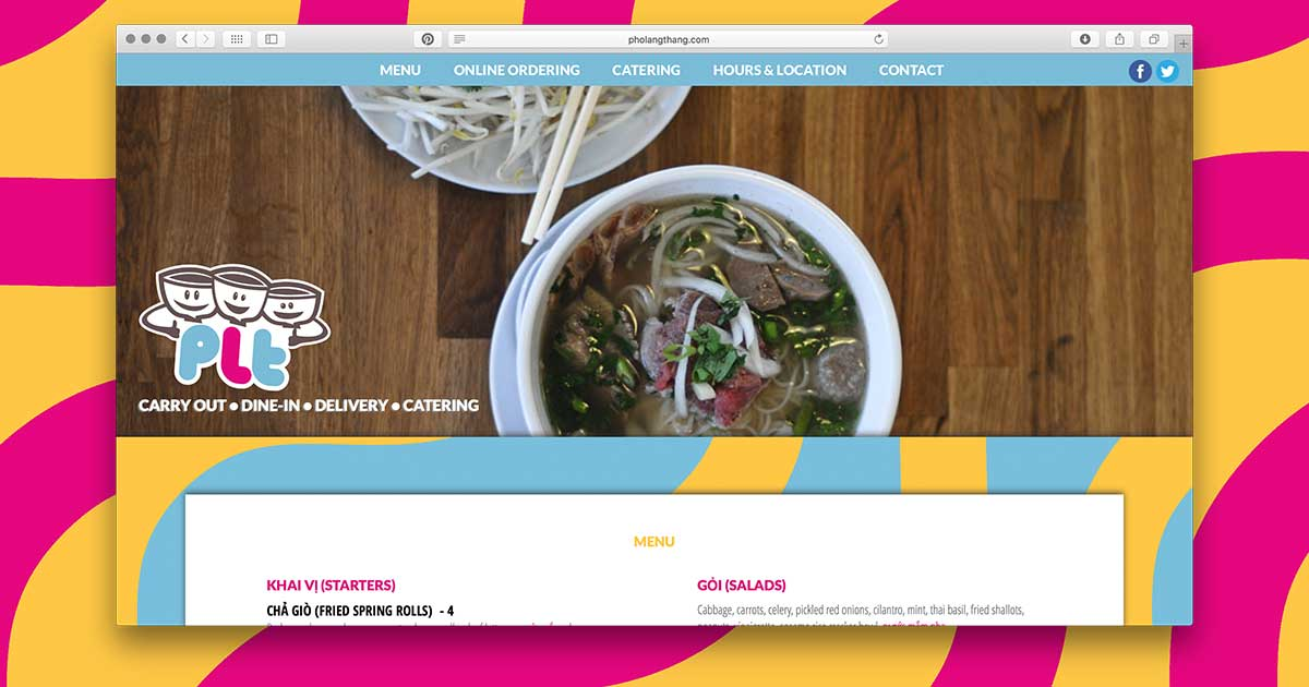 Pho Lang Thang - Findlay Market, Over The Rhine - Dine-In